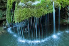 Cascada de Bigar, Rumania Foto de archivo