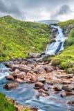 Cascada de Blackhill en la isla de Skye fotografía de archivo libre de regalías