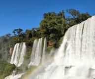 Cascada de Bosetti en la Argentina fotos de archivo