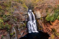 Cascada de Bushkill Foto de archivo libre de regalías