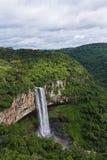 Cascada de Caracol - ciudad de Canela, Río Grande del Sur - el Brasil Foto de archivo
