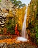 Cascada de Colores stockbild