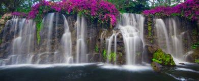 Cascada de conexión en cascada Foto de archivo libre de regalías