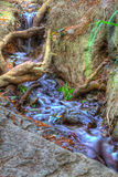Cascada de conexión en cascada en Crimea fotos de archivo