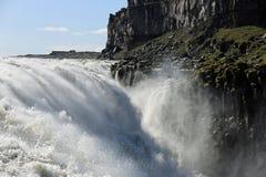 Cascada de Dettifoos en Islandia Foto de archivo libre de regalías