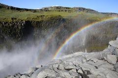 Cascada de Dettifoss Imagen de archivo libre de regalías