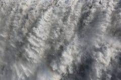 Cascada de Dettifoss en Islandia Foto de archivo