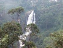 Cascada de Devon en Sri Lanka fotografía de archivo libre de regalías
