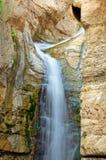 Cascada de Ein Bokek Foto de archivo