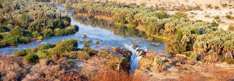 Cascada de Epupa Imagen de archivo libre de regalías