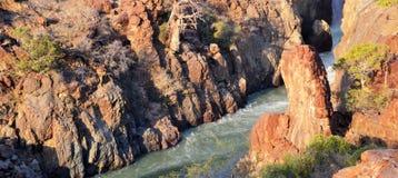 Cascada de Epupa Fotos de archivo