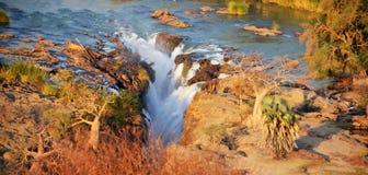 Cascada de Epupa Imagenes de archivo