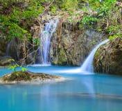 Cascada de Erawan en Tailandia Foto de archivo