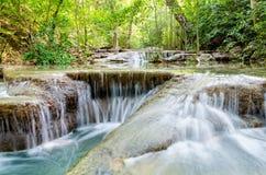 Cascada de Erawan en Tailandia Foto de archivo libre de regalías