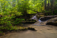 Cascada de Erawan, Kanchanaburi, Tailandia Fotografía de archivo