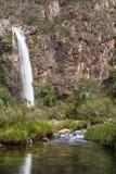 Cascada de Fundao - Serra da Canastra National Park - Minas Gerai Foto de archivo libre de regalías