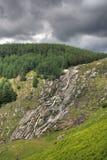 Cascada de Glenmaonass Imagen de archivo libre de regalías