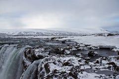 Cascada de Godafoss Imagen de archivo libre de regalías