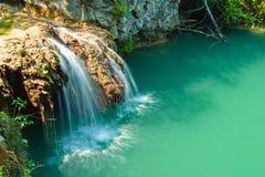Cascada de Hotnica Fotos de archivo libres de regalías