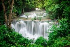 Cascada de Huai Mae Khamin fotografía de archivo libre de regalías