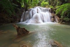 Cascada de Huay Mae Kamin Foto de archivo libre de regalías