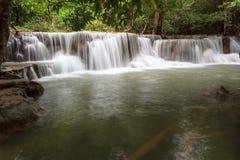 Cascada de Huay Mae Kamin Imagenes de archivo
