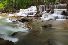 Cascada de Huay Mae Kamin Fotos de archivo