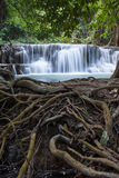 Cascada de Huay Mae Kamin, Tailandia Fotos de archivo libres de regalías