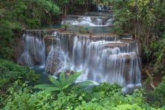 Cascada de Huay Mae Kamin, Tailandia fotografía de archivo libre de regalías