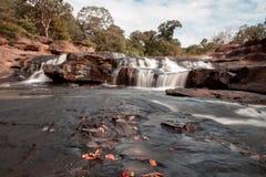 Cascada de Huay Mae Khamin, Tailandia Imagen de archivo libre de regalías