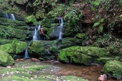 Cascada de Huay Mae Khamin, Tailandia Imágenes de archivo libres de regalías