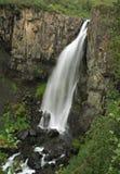 Cascada de Hundafoss Imagen de archivo libre de regalías