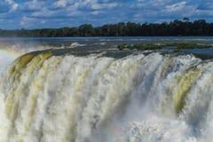 Cascada de Iguassu imagenes de archivo