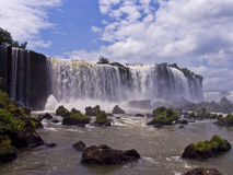 Cascada de Iguazu Imagen de archivo libre de regalías