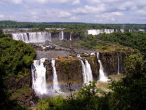 Cascada de Iguazu Fotos de archivo libres de regalías