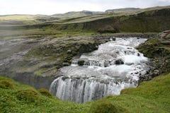 Cascada de Islandia Fotografía de archivo