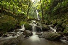 Cascada de Jumog Imagenes de archivo