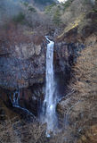 Cascada de Kegon en el parque nacional de Nikko, Japón Foto de archivo