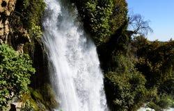 Cascada de Kharanos en Edessa Grecia Fotos de archivo