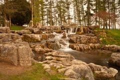 Cascada de Kildare Fotos de archivo libres de regalías