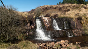 Cascada de Knockluga Imagenes de archivo