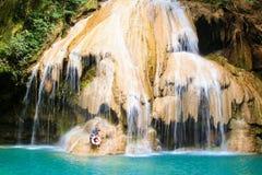 Cascada de Koe Luang Imagenes de archivo