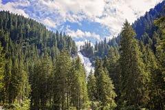 Cascada de Krimmler Imagen de archivo