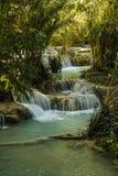 Cascada de Kuang Si foto de archivo libre de regalías