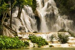 Cascada de Kuang Si Fotografía de archivo libre de regalías