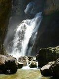 Cascada DE l´Estrecho, Ordesa (Spanje) Stock Afbeeldingen