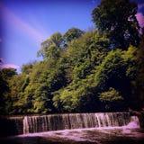Cascada de la almendra del río Fotografía de archivo libre de regalías