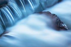 Cascada de la cala de Orangeville del invierno fotografía de archivo libre de regalías