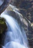 Cascada de la cala del bálsamo Fotografía de archivo
