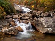 Cascada de la cascada Fotos de archivo libres de regalías